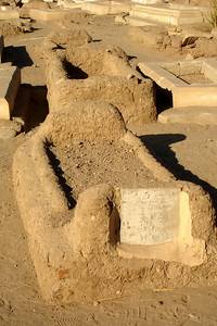 Some of the graves in the Fatimid Cemetery - Aswan, Egypt ... November 25, 2006 ... Photo by Rob Page III