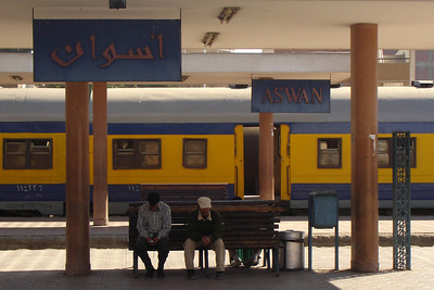 Aswan Train Station - Aswan, Egypt ... November 25, 2006 ... Photo by Rob Page III
