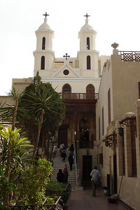 The Hanging Church - Cairo, Egypt ... November 21, 2006 ... Photo by Emily Conger
