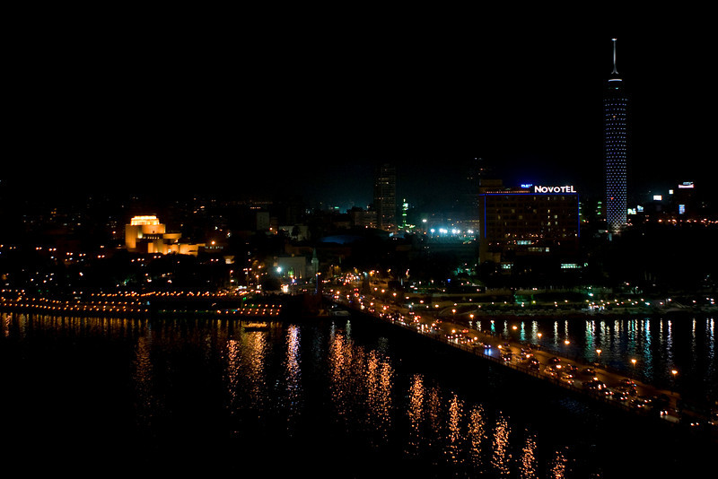 The Nile by Night