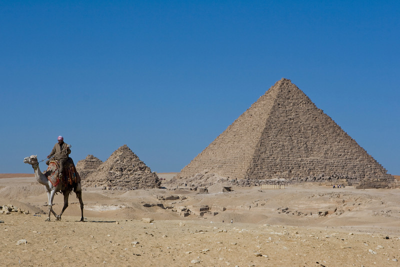 Pyramids by day....
