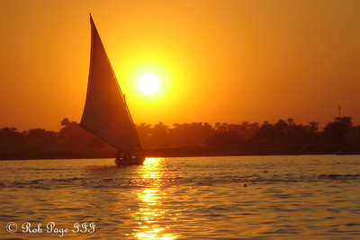 Felucca Ride at Sunset