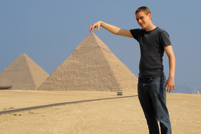 And then I created the pyramids - Giza, Egypt ... November 20, 2006