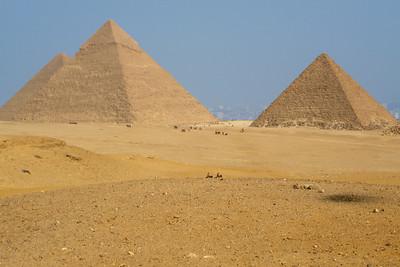 The Giza Pyramids - Giza, Egypt ... November 20, 2006 ... Photo by Rob Page III