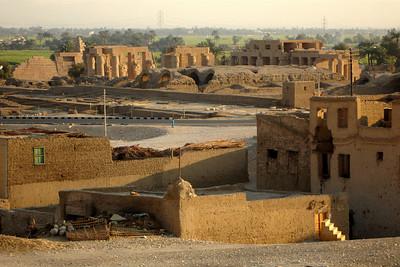 The ruins of Deir al-Bahri - Gurna, Egypt ... November 23, 2006 ... Photo by Rob Page III