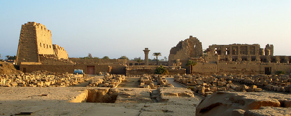 Karnak from Khons Temple - Luxor, Egypt ... November 24, 2006 ... Photo by Rob Page III