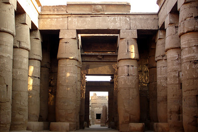 The Great Hypostyle Hall of Karnak - Luxor, Egypt ... November 24, 2006 ... Photo by Rob Page III