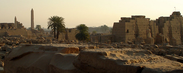 Karnak - Luxor, Egypt ... November 24, 2006 ... Photo by Rob Page III
