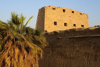 The First Pylon of Karnak - Luxor, Egypt ... November 24, 2006 ... Photo by Rob Page III