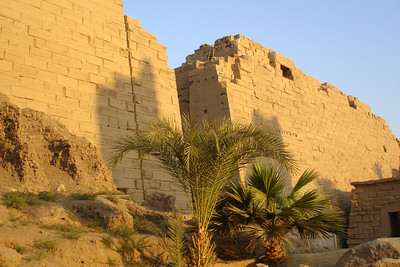 Outside the Precinct of Amun-Re of Karnak - Luxor, Egypt ... November 24, 2006 ... Photo by Rob Page III