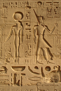 The heiroglyphics of Karnak - Luxor, Egypt ... November 24, 2006 ... Photo by Rob Page III