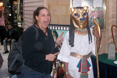 Natalie, they aren't the guards you find at Buckingham Palace - Cairo, Egypt ... November 21, 2006 ... Photo by John