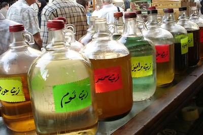 The mystery jars - Cairo, Egypt ... November 21, 2006 ... Photo by Emily Conger