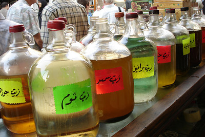 The mystery jars - Cairo, Egypt ... November 21, 2006 ... Photo by Emily Conger