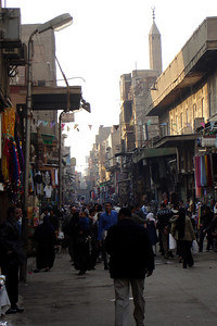 The streets of the city - Cairo, Egypt ... November 21, 2006 ... Photo by Rob Page III