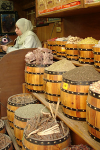 A spice shop - Cairo, Egypt ... November 21, 2006 ... Photo by Emily Conger
