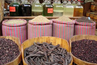Spices - Cairo, Egypt ... November 21, 2006 ... Photo by Emily Conger
