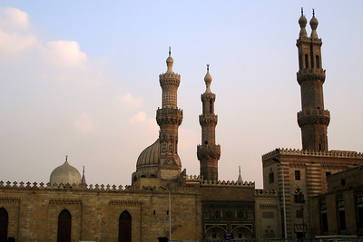The al-Azhar Mosque - Cairo, Egypt ... November 21, 2006 ... Photo by Rob Page III