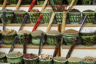 The many spices of the markets - Cairo, Egypt ... November 21, 2006 ... Photo by Rob Page III