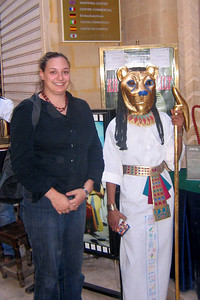 What a lovely photo of Natalie - Cairo, Egypt ... November 21, 2006 ... Photo by John