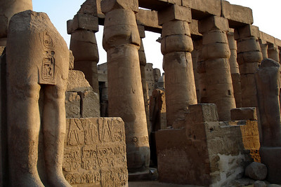 The ruins of Luxor Temple - Luxor, Egypt ... November 24, 2006 ... Photo by Emily Conger