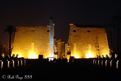 Luxor Temple - Night