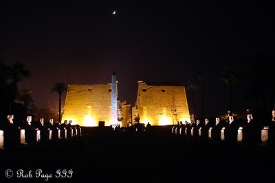 Luxor Temple - Luxor, Egypt ... November 24, 2006 ... Photo by Rob Page III