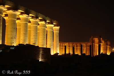 The Luxor Temple - Luxor, Egypt ... November 24, 2006 ... Photo by Rob Page III