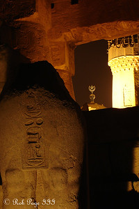 The old and the new - Luxor, Egypt ... November 24, 2006 ... Photo by Rob Page III