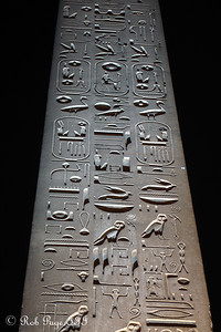 The obelisk in front of the Luxor Temple - Luxor, Egypt ... November 24, 2006 ... Photo by Rob Page III