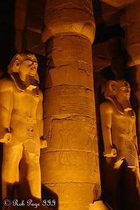 Ramesses statues in the Luxor Temple - Luxor, Egypt ... November 24, 2006 ... Photo by Rob Page III