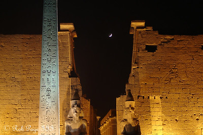 Luxor Temple - Luxor, Egypt ... November 24, 2006 ... Photo by Emily Conger