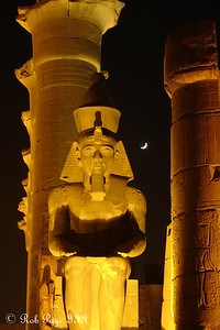 Ramesses II - Luxor, Egypt ... November 24, 2006 ... Photo by Emily Conger