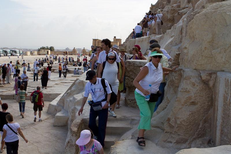 At Kunfu Pyramid, Giza