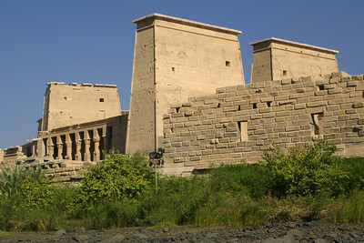 The Island of Philae - Aswan, Egypt ... November 25, 2006 ... Photo by Rob Page III