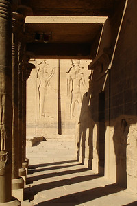 On the island of Philae - Aswan, Egypt ... November 25, 2006 ... Photo by Emily Conger