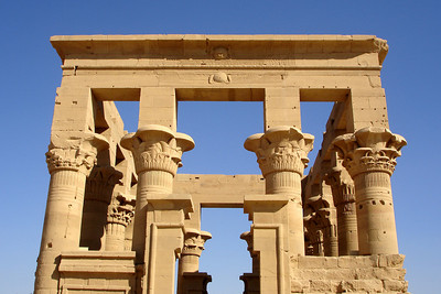 On the island of Philae - Aswan, Egypt ... November 25, 2006 ... Photo by Rob Page III