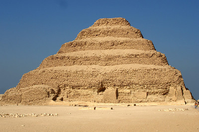 The stepped pyramid of Zoser - Saqqara, Egypt ... November 28, 2006 ... Photo by Emily Conger