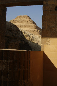 The stepped Pyramid of Zoser - Saqqara, Egypt ... November 28, 2006 ... Photo by Rob Page III