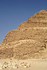 The step-pyramid of Zoser - Saqqara, Egypt ... November 28, 2006 ... Photo by Emily Conger