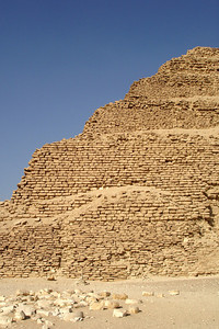 The step-pyramid of Zoser - Saqqara, Egypt ... November 28, 2006 ... Photo by Emily Conger
