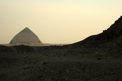 The Bent Pyramind - Dashur, Egypt ... November 28, 2006 ... Photo by Rob Page III