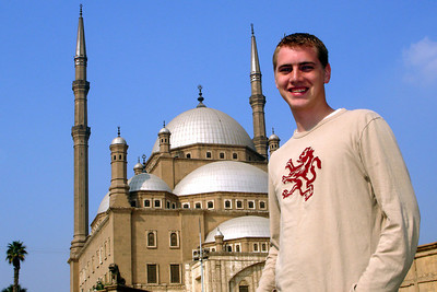 Rob and the Mosque of Mohammad Ali - Cairo, Egypt ... November 22, 2006 ... Photo by Emily Conger