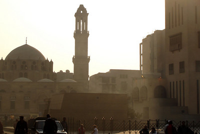 The Mosque of Mohammad Ali - Cairo, Egypt ... November 22, 2006 ... Photo by Emily Conger
