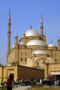 The Mosque of Mohammad Ali - Cairo, Egypt ... November 22, 2006 ... Photo by Rob Page III