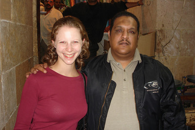 Emily and our guide - Cairo, Egypt ... November 21, 2006 ... Photo by Rob Page III