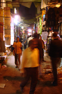 The markets at night - Cairo, Egypt ... November 21, 2006 ... Photo by Rob Page III
