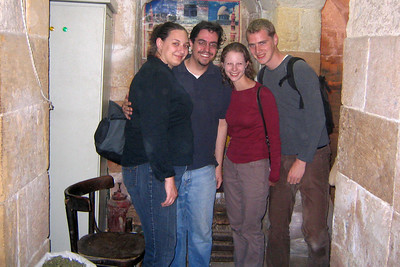 The group in the spice market at Khan al-Khalili - Cairo, Egypt ... November 21, 2006