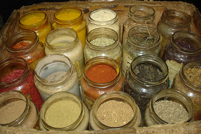 The spices - Cairo, Egypt ... November 21, 2006 ... Photo by Emily Conger