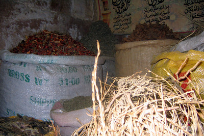 Spices anyone? - Cairo, Egypt ... November 21, 2006 ... Photo by Natalie